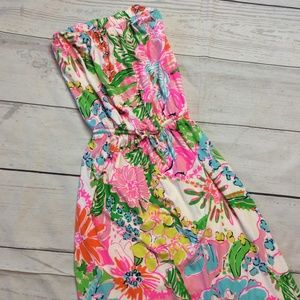 Lilly Pulitzer Target Nosey Posey Maxi Dress Small